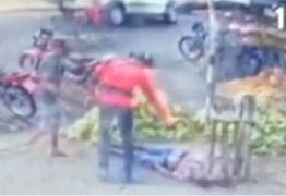 Imagens mostram Gari sendo assassinado a tiros em feira livre no Brejo da Paraíba – VEJA VÍDEO