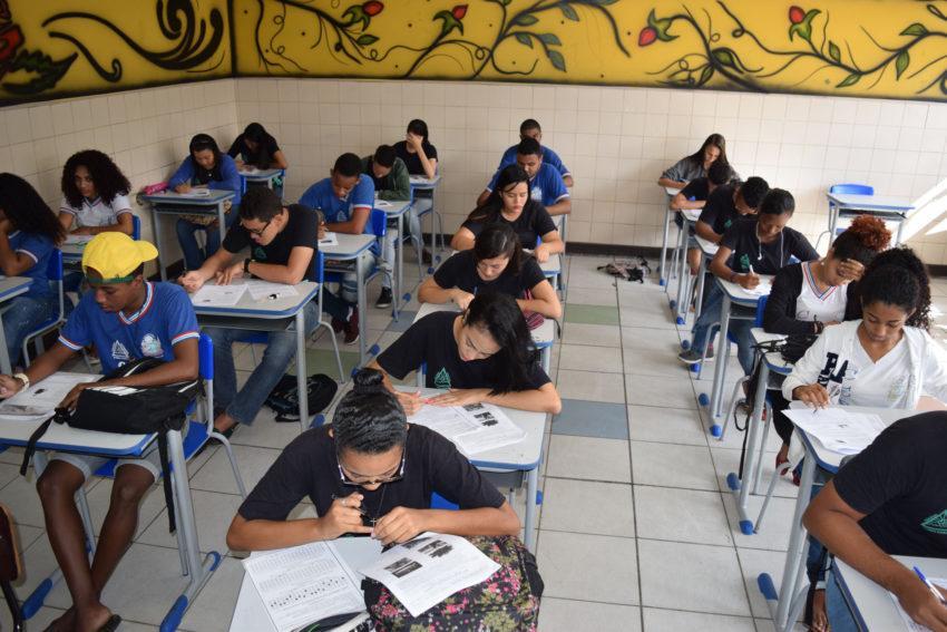 sala de aula - Estudantes da Paraíba terão bonificação de 10% no Enem para as vagas da UFPB