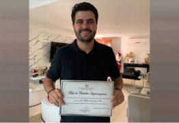 Wilson Filho recebe título de Cidadão Itapororoquense após ações em prol do desenvolvimento do município