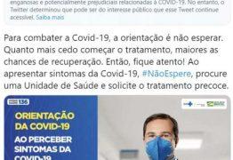 INQUÉRITO: MPF investiga Twitter por suposta censura ao Ministério da Saúde
