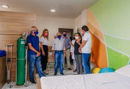 Cícero Lucena e presidente da Caixa visitam Hospital Laureano e avaliam formas de apoio à instituição