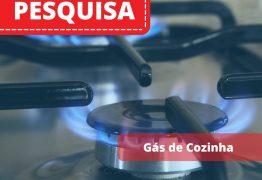 Gás de cozinha tem preço entre R$ 76,00  E R$ 87,00 em João Pessoa