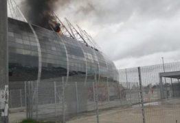 URGENTE! Incêndio atinge Arena Castelão, em Fortaleza – VEJA VÍDEO