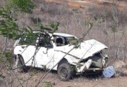 TRAGÉDIA NO CARIRI: Duas crianças morrem em acidente de carro na zona rural de Alcantil