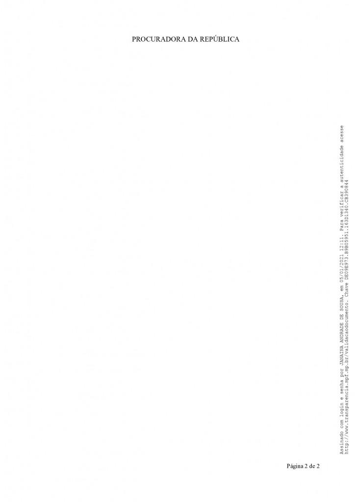 despacho n 1 2021   pp 12 2020 page 0002 - MPF recebe denúncia de festas de posse em Monteiro e pede que Câmara informe quais os vereadores que participaram do evento - VEJA VÍDEO