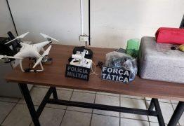Polícia desarticula grupo que usava drone para lançar drogas em presídio na PB