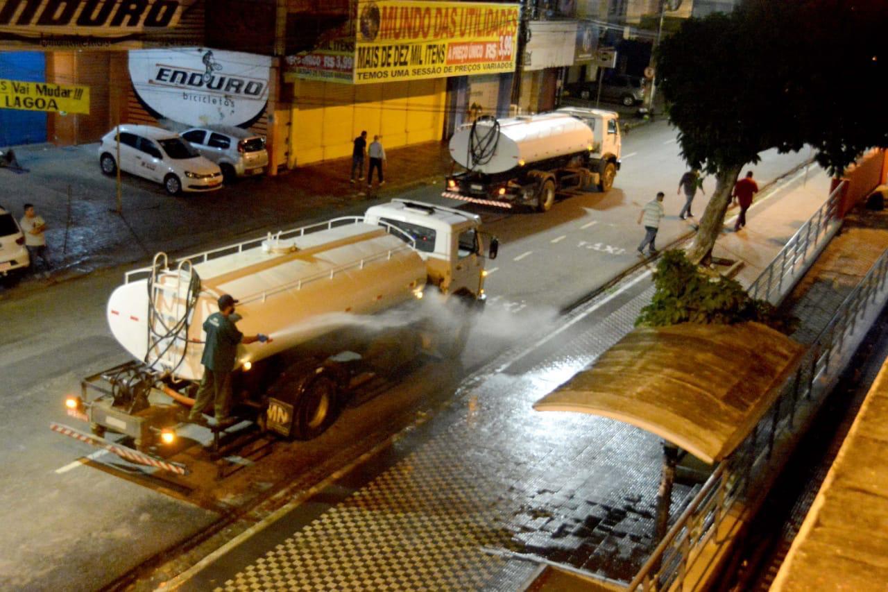 limpeza pmjp - Prefeitura de João Pessoa inicia ação de limpeza e sanitização nos mercados públicos