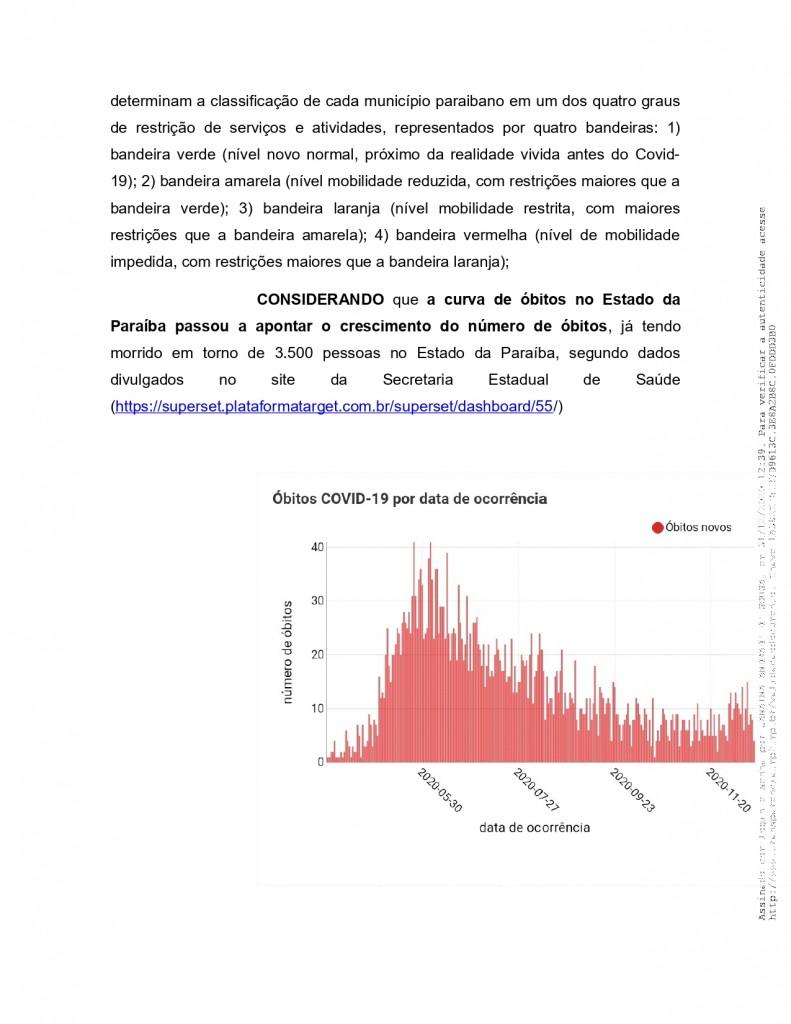 recomendacao 11 2020 page 0003 - MPF recebe denúncia de festas de posse em Monteiro e pede que Câmara informe quais os vereadores que participaram do evento - VEJA VÍDEO