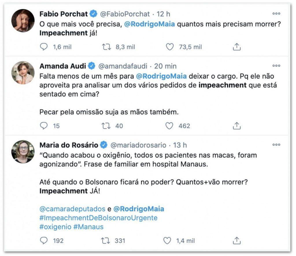 tt1 1024x886 - Nas redes sociais, Maia é pressionado a pautar impeachment de Bolsonaro