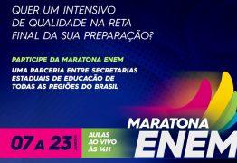 Maratona ENEM: TV Assembleia transmite em canal aberto bizurada para provas do exame
