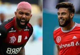 Flamengo bate Inter de virada e assume a liderança do Brasileirão