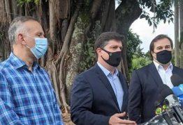 'O trio que atrasa o país': paraibano apoiador de Arthur Lira critica Maia, Rossi e Aguinaldo