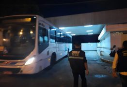 PMJP realiza operação para fiscalizar as condições de higiene dos ônibus da Capital – VEJA