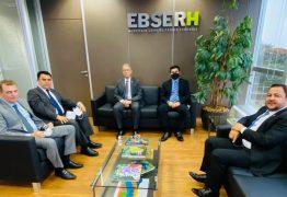 A convite de Wilson Santiago, Wilson Filho vai a Brasília e juntos buscam destravar recursos de R$ 25 milhões para o Hospital Universitário do Sertão