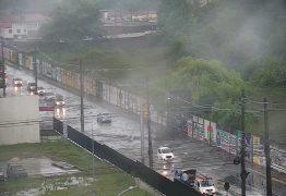 Defesa Civil registra 50,8 mm de chuva em apenas 6 horas em João Pessoa