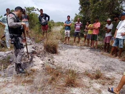 corpos encontrados - CRIME: dois corpos são encontrados pela policia em Baía da Traição