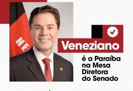 """Famup parabeniza eleição de Veneziano como vice-presidente do Senado: """"Municípios ganham"""""""
