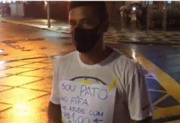 Fred, atacante do Fluminense é flagrado pedindo dinheiro no sinal – VEJA VÍDEO