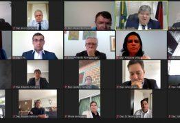Em mensagem ao Legislativo, João Azevêdo destaca parceria da ALPB no combate à pandemia