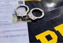 Foragido da Justiça por furto é preso pela PRF na Paraíba
