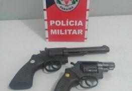 Polícia Militar prende suspeitos com armas de fogo próximo ao presídio de Santa Rita
