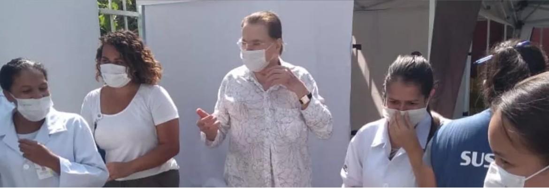 silvio santos vacinado - SILVIO SANTOS VEM AÍ: Dono do SBT é vacinado contra a Covid-19