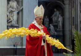 SEMANA SANTA: Papa diz que o 'diabo se aproveita' da pandemia para semear desconfiança