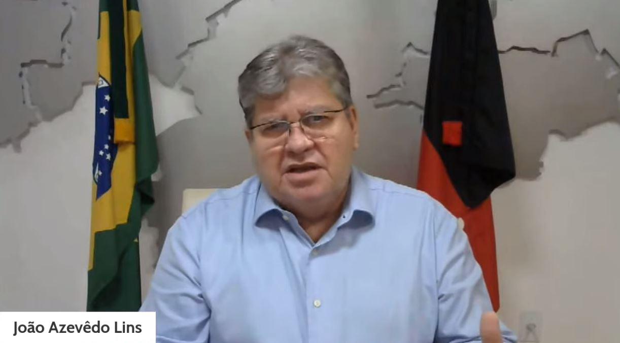 JOAO AZEVEDO LIVE OFICIAL - ASSISTÊNCIA SOCIAL: governador isenta pagamento na conta de água, anuncia cestas básicas e garante que 'não haverá lockdown'