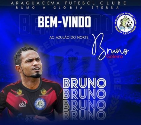 goleiro bruno - Na madrugada desta quarta, goleiro Bruno é anunciado por time do Tocantins