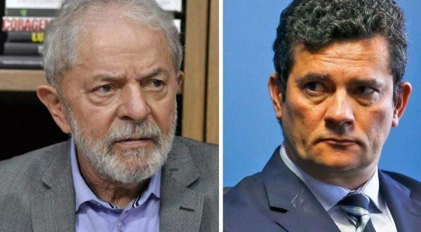 """lula moro 600x331 1 - REALIZADO! Com descrédito da Lava Jato, Lula diz que Moro é """"deus de barro"""" e que não tem medo de disputar a eleição com nomes da terceira via"""