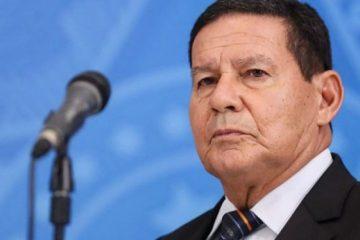"""mourao 360x240 - """"Sem comentários"""", diz Mourão sobre declaração de Bolsonaro"""