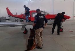Aeronave é apreendida em Santa Rita durante operação da polícia de PE no combate ao tráfico de drogas e lavagem de dinheiro