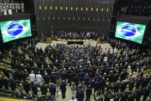 plenário da câmara 300x200 - Secretários do RJ pedem exoneração para votar contra voto impresso na Câmara
