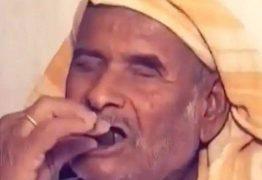 Homem diz comer 250 gramas de pedra todos os dias há 32 anos