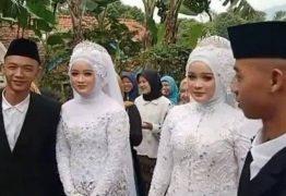 Gêmeos idênticos se casam com gêmeas idênticas, vão morar juntos e se confundem