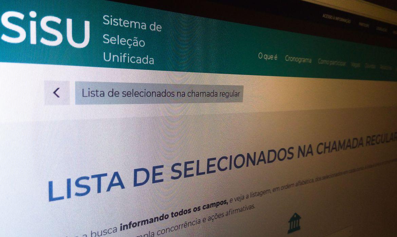 Sisu Foto Agencia Brasil 1 - UFCG publica lista de espera do Sisu 2021.1