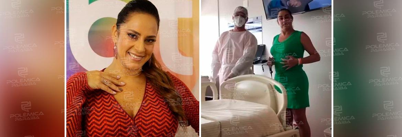 WhatsApp Image 2021 04 14 at 15.36.26 - Ainda hospitalizada Silvia Abravanel faz exercícios no hospital para fortalecer pulmões