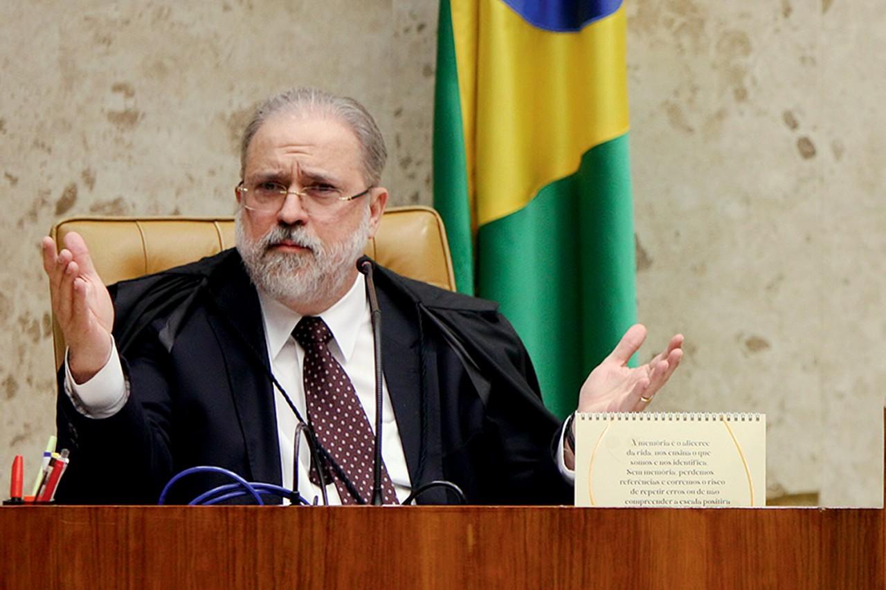 augusto aras 2020 982.jpg - Em resposta a Cármen Lúcia, Aras diz que abriu investigação preliminar sobre live de Bolsonaro