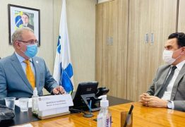 Em reunião com Queiroga, Wilson Santiago reforça pedido para instalação de um LACEN na cidade de Sousa