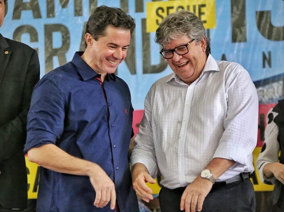 veneziano e joao 1 - MDB divulga comunicado e cancela reunião do partido em João Pessoa devido a compromisso institucional de Veneziano