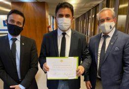 Wilson Santiago é homenageado após repassar emenda de R$ 6,3 milhões para HU de JP