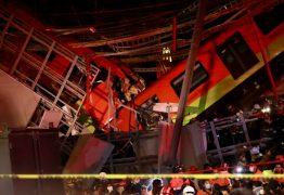 Trem desaba em avenida após queda de viaduto e mata pelo menos 23 pessoas no México – VEJA VÍDEO