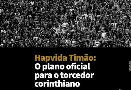 Hapvida e Corinthians lançam plataforma de planos de saúde para torcedores
