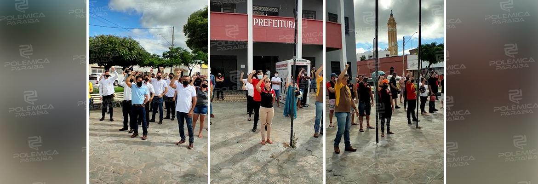 """78c0cfac 9255 4b81 8678 0838509a73a5 - Após novo decreto, trabalhadores e empresários protestam em Cajazeiras: """"Não temos culpa"""" - VEJA VÍDEO"""