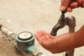 Falta água em três bairros de João Pessoa nesta terça (3)