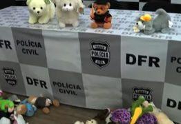 Polícia prende quadrilha especializada em roubar bichinhos de pelúcia