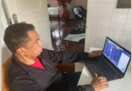 VENCEU A COVID: Damião Feliciano retoma presença em sessão da Câmara