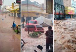 FAKE NEWS: imagens de enxurrada que circulam nas redes sociais não é em Sapé, mas sim em São Paulo, o fato aconteceu em 2020 – VEJA VÍDEO