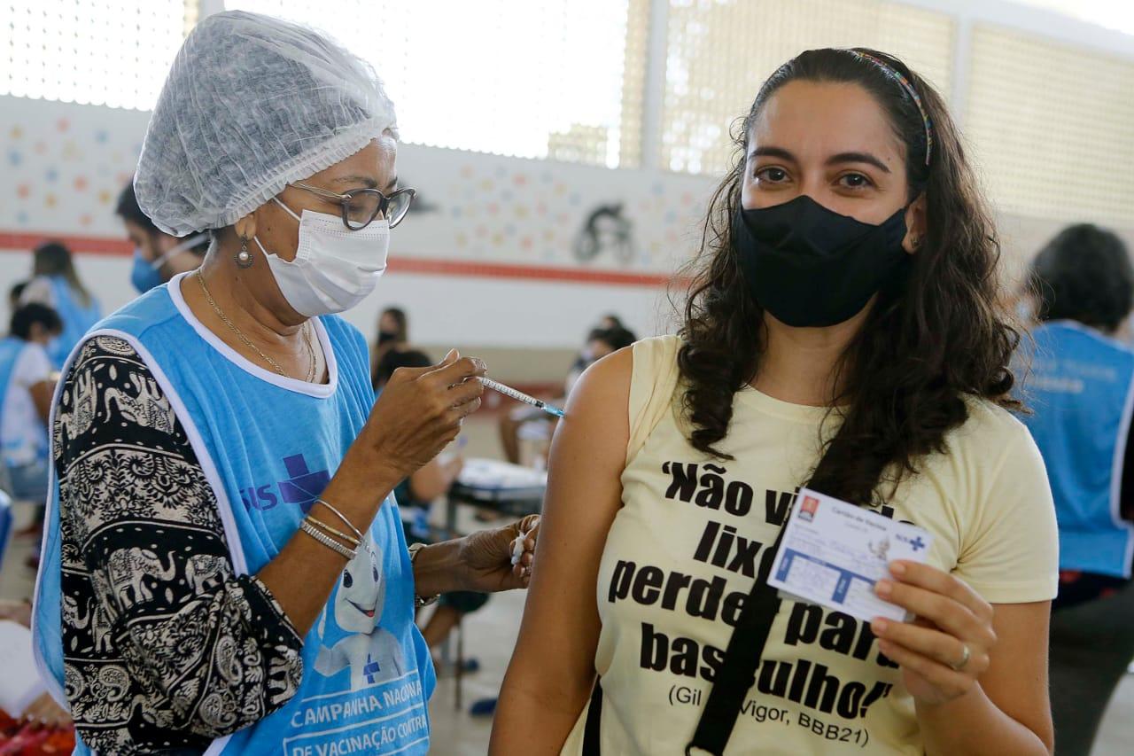 NESTA SEGUNDA: PMJP segue com vacinação de trabalhadores da educação, pessoas com deficiência e com comorbidades – VEJA LOCAIS