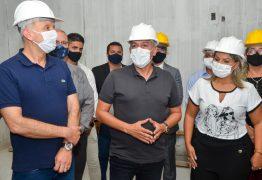 Buscando parcerias, Emerson Panta recebe Aguinaldo Ribeiro em visita a obras em Santa Rita